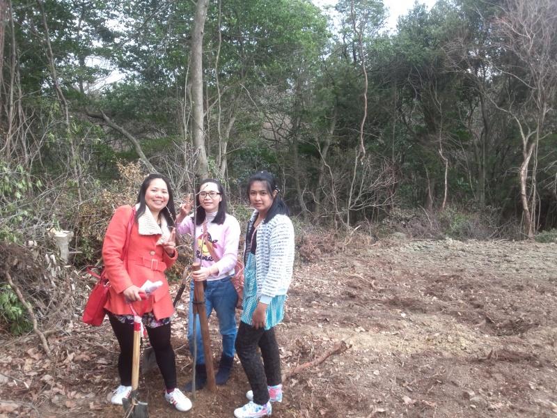 20160306満濃池桜植樹